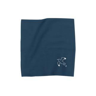かもめ(White) Towel handkerchiefs