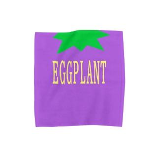 EGGPLANT Towel handkerchiefs