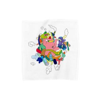 モクモクモク〜 Towel handkerchiefs
