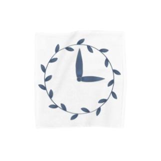 時計/grass Towel Handkerchief