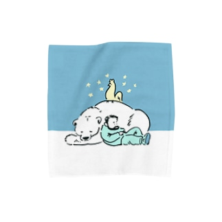 SLEEP ALASKA Towel handkerchiefs