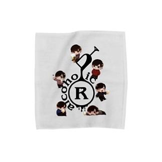 あるこほりっくのちびあるタオル M グレー Towel Handkerchief