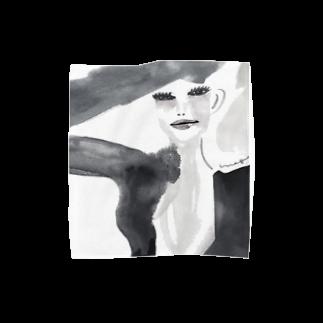 megumiillustrationのmusic タオルハンカチ