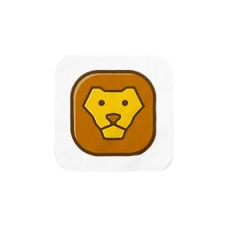 Savanna lion face Towel handkerchiefs