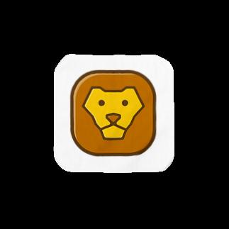 willnetのSavanna lion face Towel handkerchiefs