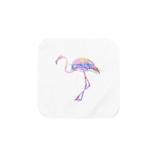 Flamingo Parade Towel handkerchiefs