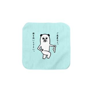 タオル(顔を拭いてね) Towel handkerchiefs