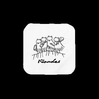 Ñandes〜ニャンデス〜のニャンデス Towel handkerchiefs