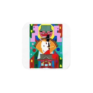 鶴岡八幡宮-tsuruoka- Towel handkerchiefs