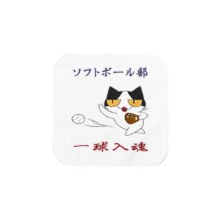 ソフトボール Towel handkerchiefs