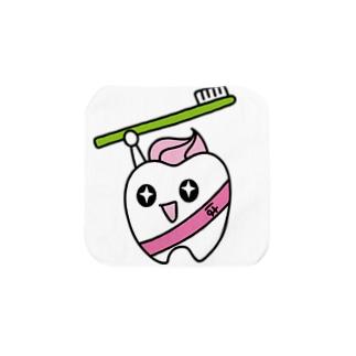 歯りきり Towel handkerchiefs