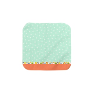 ことりづくし Towel handkerchiefs