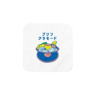 【純喫茶メロン】プリン・アラモード Towel handkerchiefs