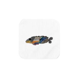 りしゆな:お魚 by はせりょう Towel handkerchiefs