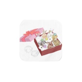 ウサ菓子ボックスvol1 タオルハンカチ