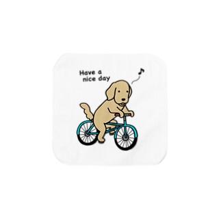 bicycle 2 Towel handkerchiefs
