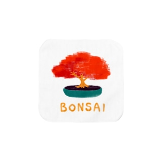 BONSAI_MOMIJI Towel handkerchiefs