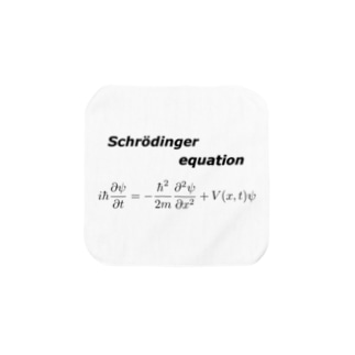 シュレーディンガー方程式 Towel handkerchiefs