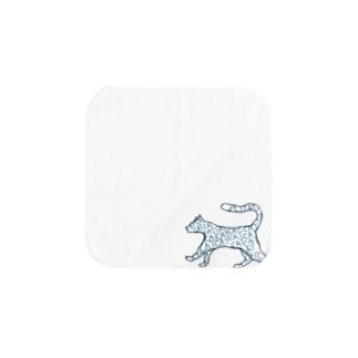 【NANN  TO NAKU】きゃっと Towel handkerchiefs