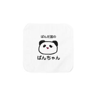 ぱんだ国のぱんちゃん Towel handkerchiefs