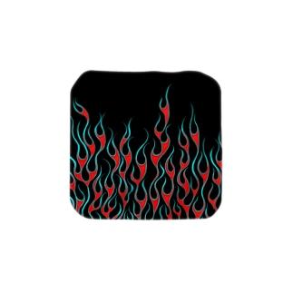 Turquoise Flame Towel handkerchiefs