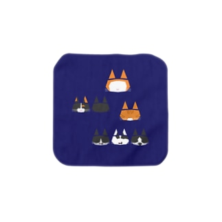 five cats Towel handkerchiefs