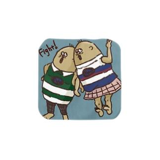 双子コーデ(原画) Towel handkerchiefs