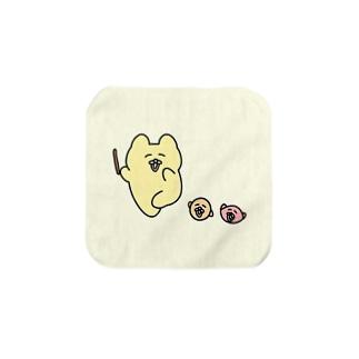 たのしげチャンミー【Sサイズ限定】 Towel handkerchiefs