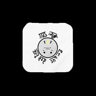 mi.の龍くん(グレー) Towel handkerchiefs