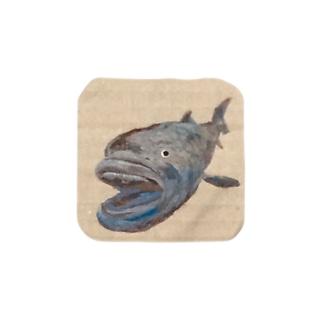 メガマウス Towel handkerchiefs
