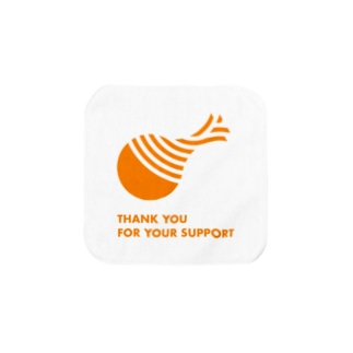 THANK YOU FOR YOUR SUPPORT Towel handkerchiefs