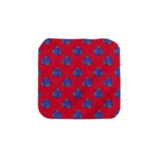 RED×BRUE Rose Towel handkerchiefs