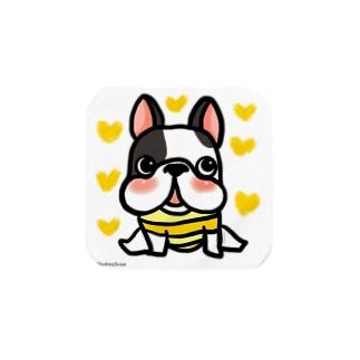 フレンチ4(次男) Towel handkerchiefs