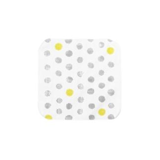 佳矢乃のたんぽぽ水玉 Towel handkerchiefs