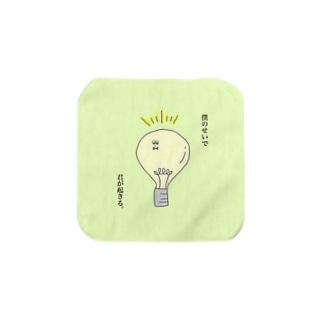 電球くん Towel handkerchiefs