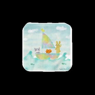 シーアペイントのシーアの方舟 Towel handkerchiefs