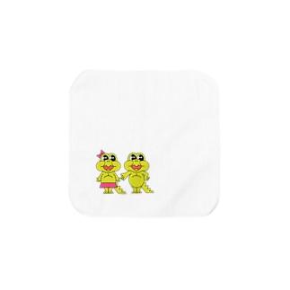 クソダサ粗品アガマ Towel handkerchiefs