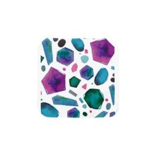 colour crystal Towel handkerchiefs