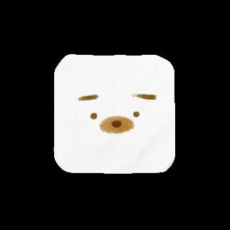 hitogatagorillaの少し困ったイヌ Towel handkerchiefs