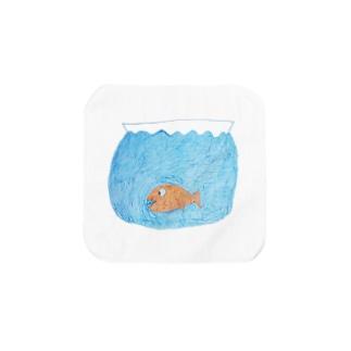 金魚鉢 Towel handkerchiefs