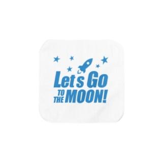 Let's go to the Moon! Towel handkerchiefs