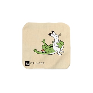 鳥獣戯画Love Towel handkerchiefs