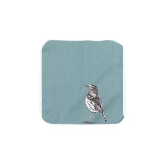 鳥 01 Towel handkerchiefs