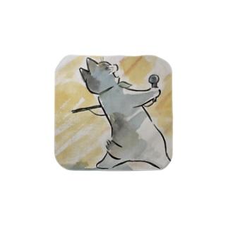 café Mo.freeのボヘミアン・ニャプソディ Towel handkerchiefs
