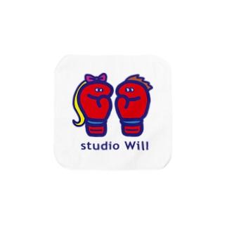 studio Will×INGRID オリジナルハンドタオル B Towel handkerchiefs