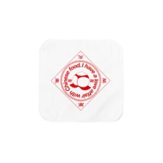 中華中毒(桃尻赤ver.) Towel handkerchiefs