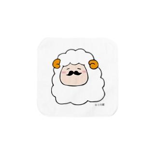 ヒゲ羊 タオルハンカチ