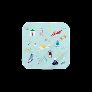 misuzuoyamaのteleportタオル Towel handkerchiefs
