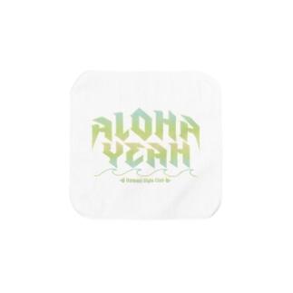 ALOHA YEAH Towel handkerchiefs