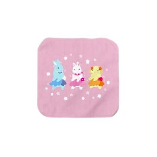 フラバニーズ Towel handkerchiefs